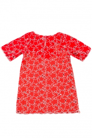 Star motif dress od Stella McCartney Kids