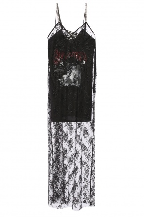 Lace dress with chemise od McQ Alexander McQueen
