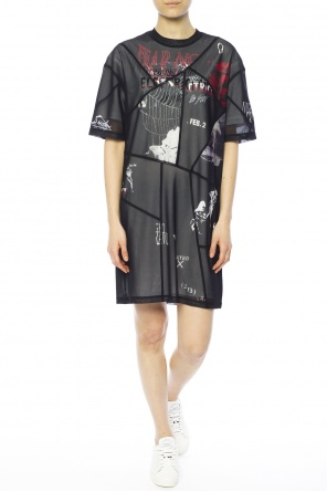 Two-layered dress od McQ Alexander McQueen
