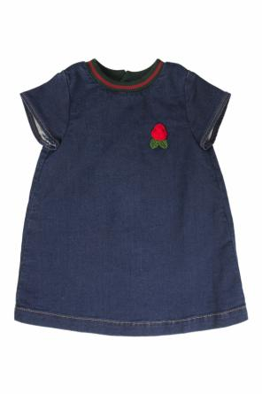 Denim dress od Gucci Kids