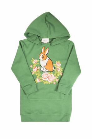 Hooded sweatshirt dress od Gucci Kids