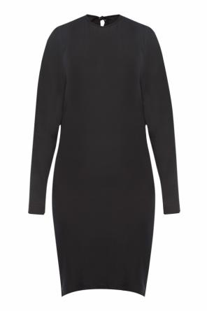 Gathered dress od Balenciaga