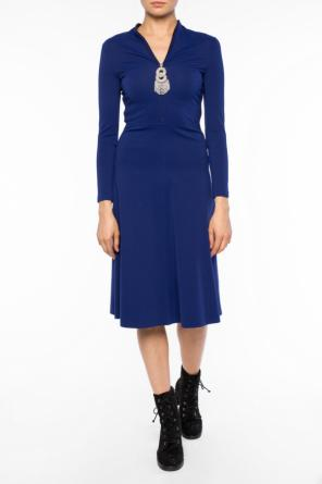 Decorative closure dress od Balenciaga