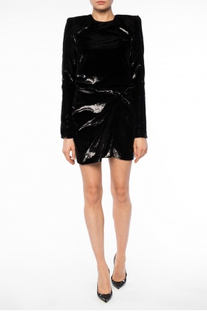 Gathered dress od Saint Laurent