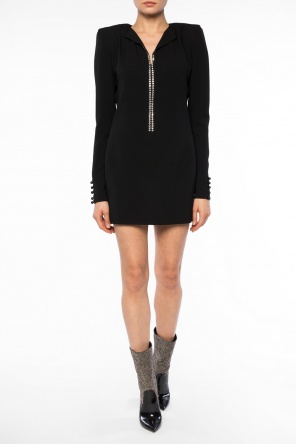 Encrusted dress od Saint Laurent