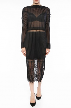 Pleated lace dress od Stella McCartney