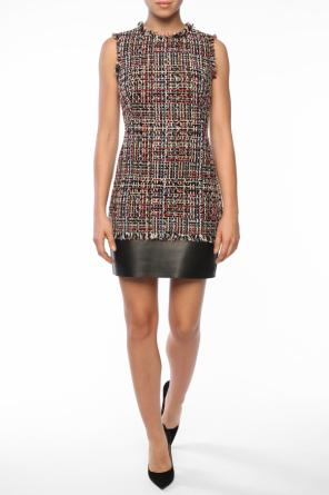 Tweed dress od Alexander McQueen