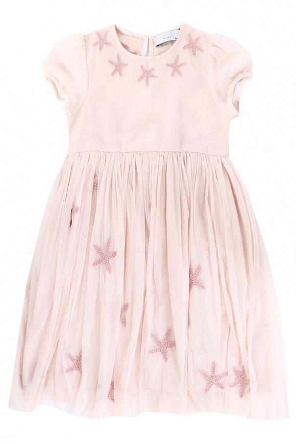 1646bb89a Tulle-trim dress Stella McCartney Kids - Vitkac shop online
