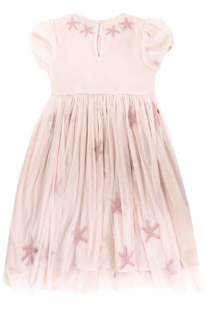 Tulle-trim dress od Stella McCartney Kids