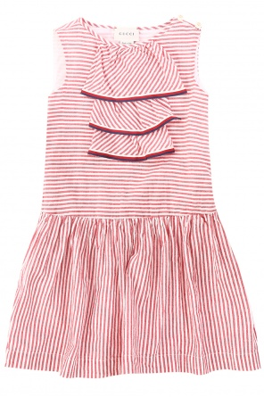 Striped dress od Gucci Kids