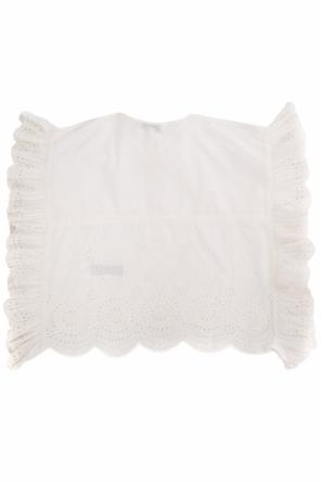 T-shirt z falbanami od Stella McCartney Kids