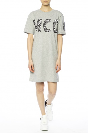Printed sweatshirt dress od McQ Alexander McQueen