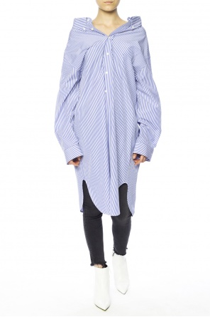 Striped shirt dress od Balenciaga
