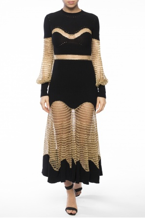 Flared dress od Alexander McQueen