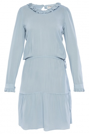 Dress with ruffle collar od Balenciaga