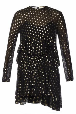Polka dot dress od Saint Laurent
