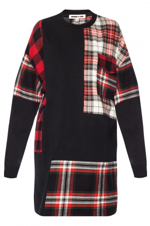 Checked dress od McQ Alexander McQueen