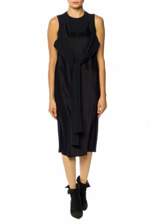 Open-shoulder dress od T by Alexander Wang