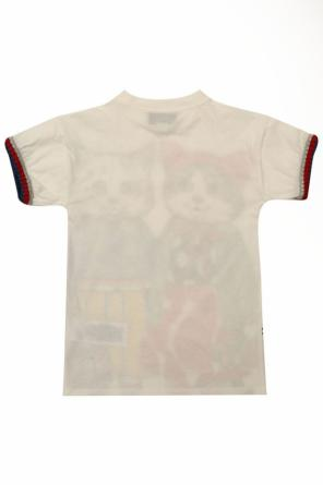 Printed dress od Gucci Kids