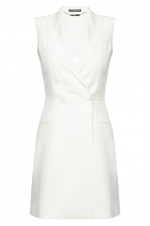 Sleeveless dress od Alexander McQueen