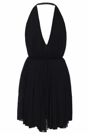 Open back dress od Saint Laurent