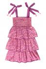 Zimmermann Kids Leopard-print dress