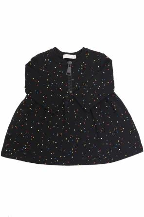 Dotted tracksuit dress od Stella McCartney Kids
