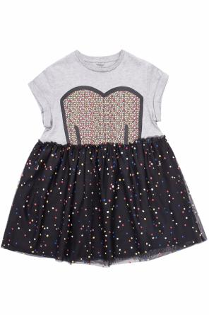 Dress with tulle skirt od Stella McCartney Kids