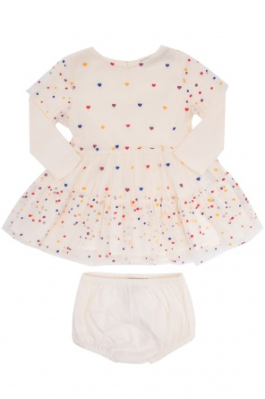 Printed tulle dress od Stella McCartney Kids
