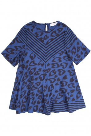 Leopard print dress od Stella McCartney Kids