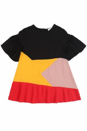 Dress with pleats od Stella McCartney Kids