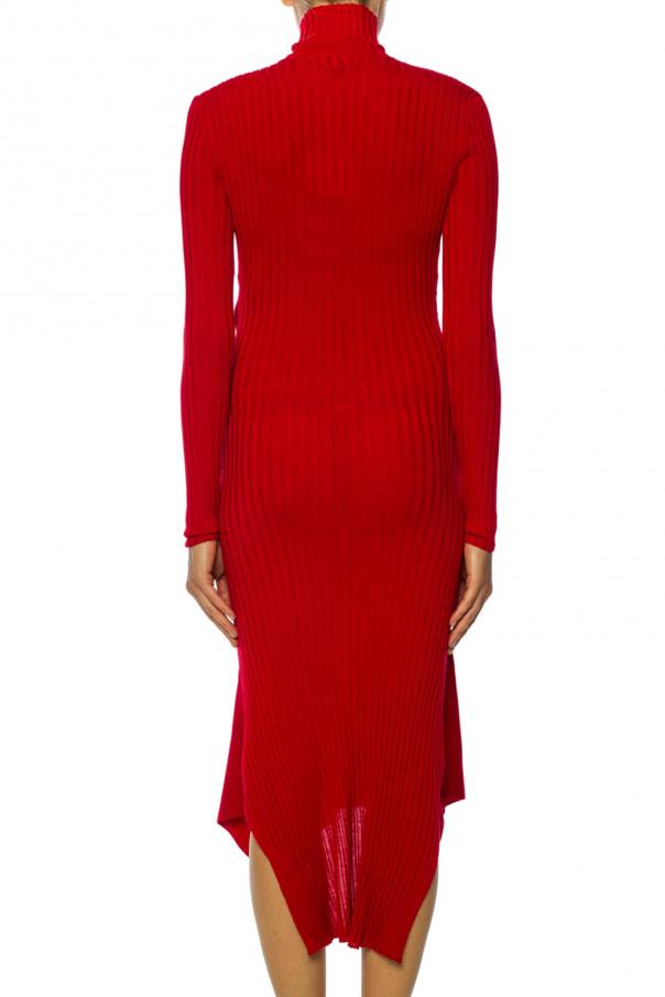 Ribbed turtleneck dress od Stella McCartney