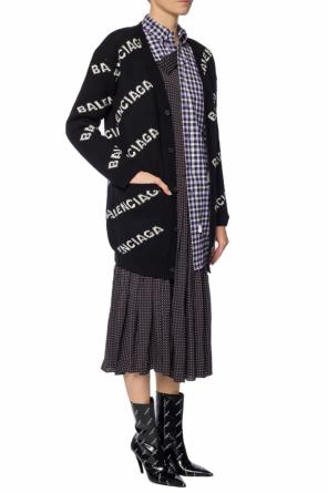 Checked dress od Balenciaga