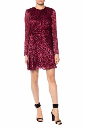 Leopard print dress od Saint Laurent