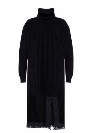 Ribbed turtleneck dress od Balenciaga