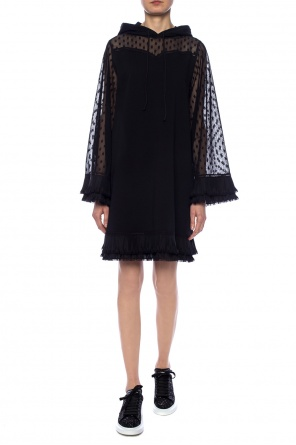 Hooded dress od McQ Alexander McQueen