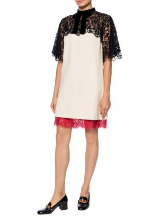 Lace-trimmed dress od Gucci