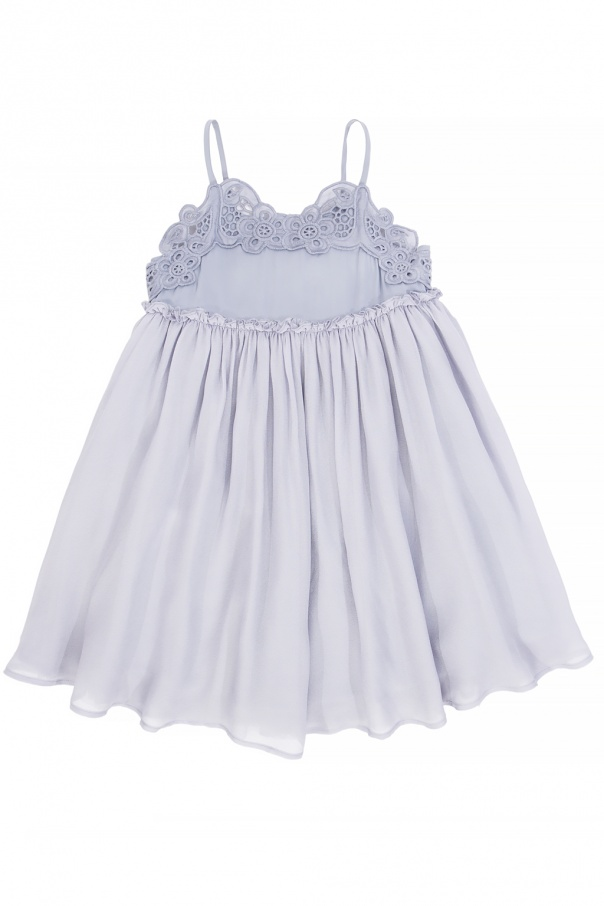 Dress with a lace insert od Stella McCartney Kids