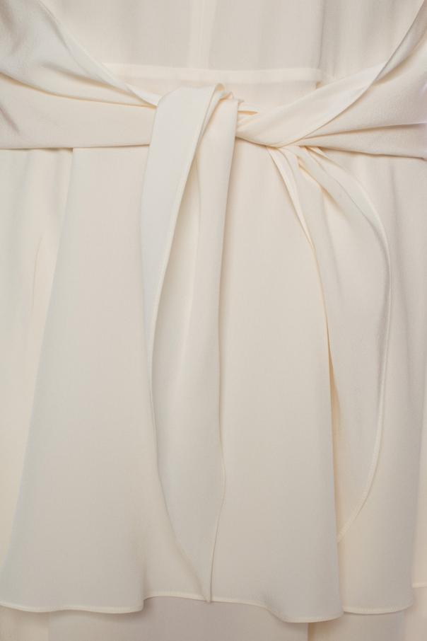 Silk ruffled dress od Stella McCartney