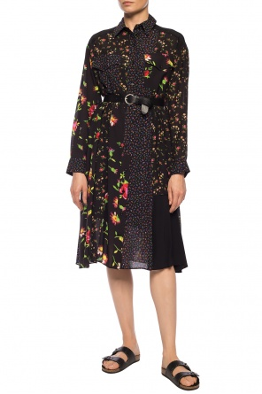 Floral-printed dress od McQ Alexander McQueen
