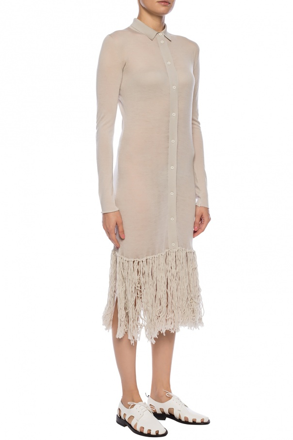 Fringed dress od Bottega Veneta