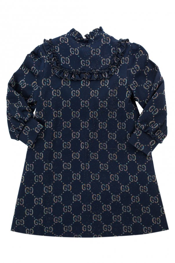 Patterned dress od Gucci Kids