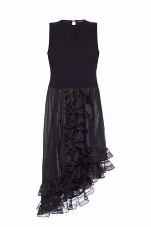 Ruffled dress od Alexander McQueen