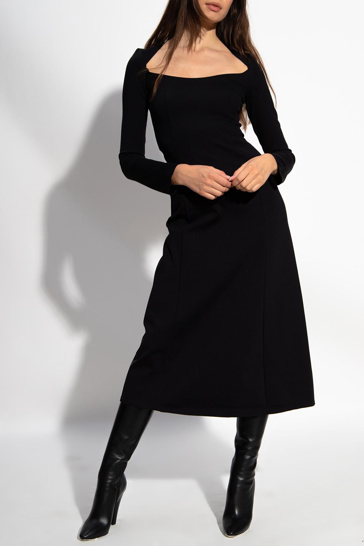 The Row Long-sleeved dress