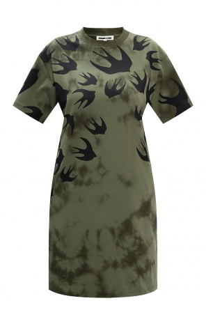 Camo pattern dress od McQ Alexander McQueen