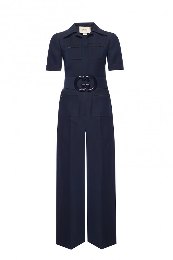 Gucci Belted jumpsuit