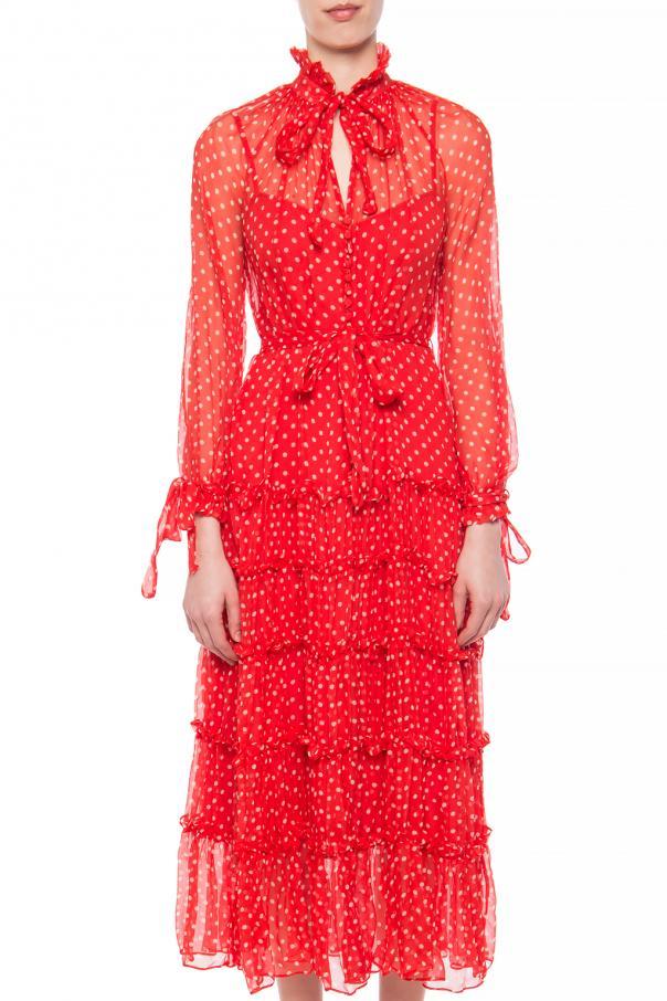 e90ab7306559 Polka dot pattern silk dress Zimmermann - Vitkac shop online
