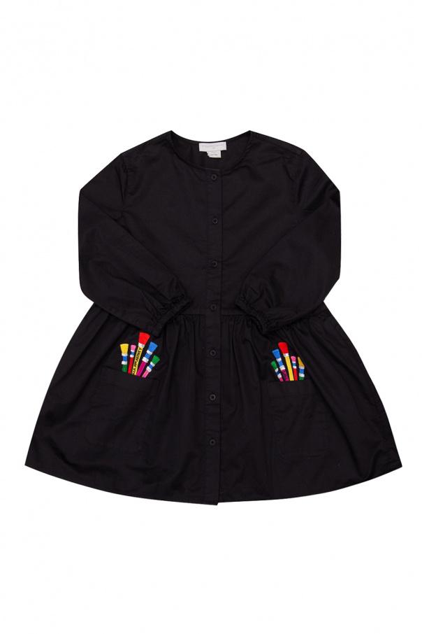 Stella McCartney Kids Sukienka z kieszeniami