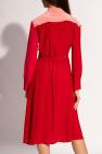 Stella McCartney Sukienka z długimi rękawami
