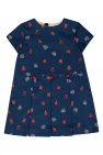 Gucci Kids Pleated dress with logo